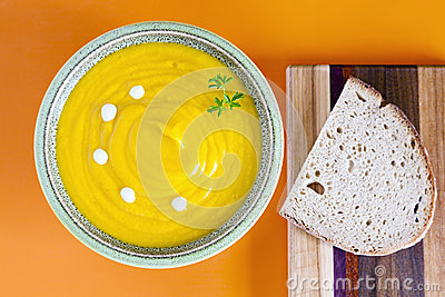 Суп тыквы