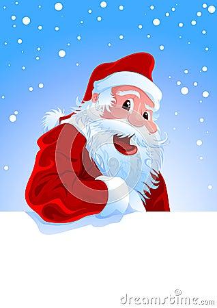 счастливый santa