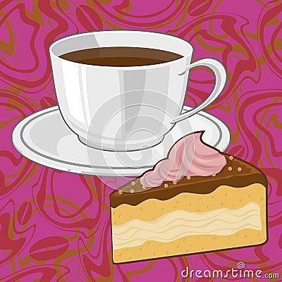 сoffee and chocolate сake