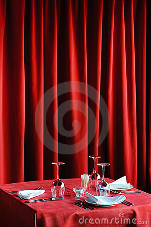 таблица ресторана