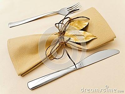таблица сервировки serviette