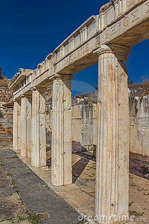 Театр - Aphrodisias