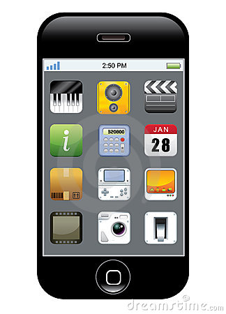 телефон иконы app