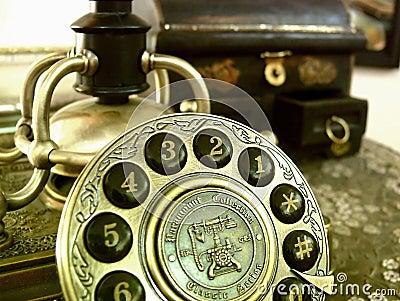 телефон ретро