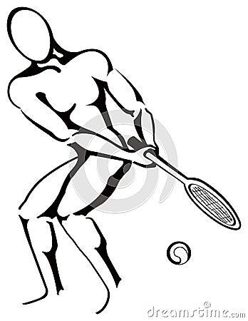 теннис игрока