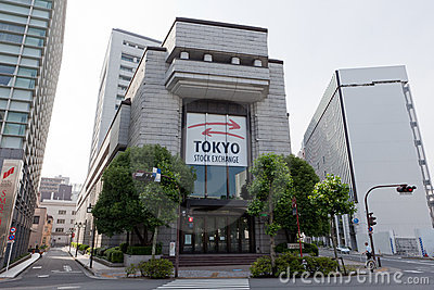 токио штока японии обменом Редакционное Изображение