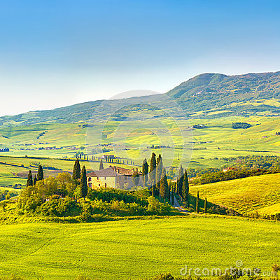 Тоскана на весне