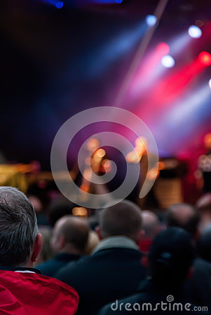 Толпа концерта