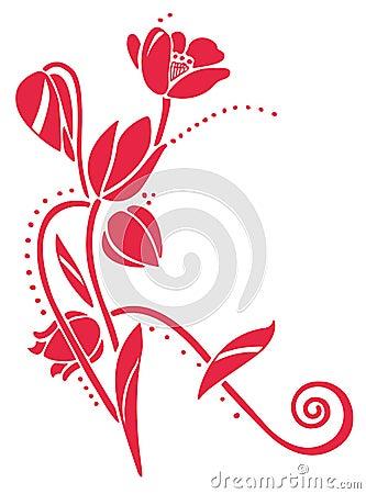 Тюльпаны вектора