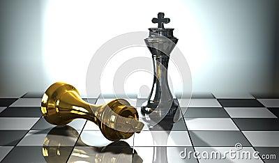 удар шахмат