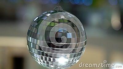 Украшенный шарик диско видеоматериал