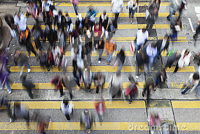 улица Hong Kong скрещивания