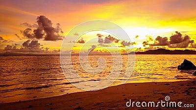 """УПУЩЕНИЕ источника d """"Argent Сейшельских островов Anse ГИПЕР видеоматериал"""
