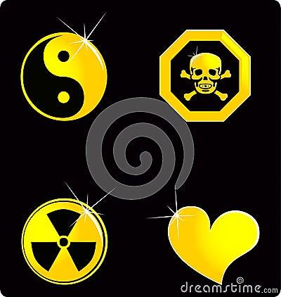 установите символ