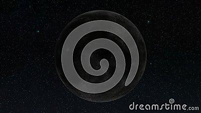 Участки вращения луны сток-видео
