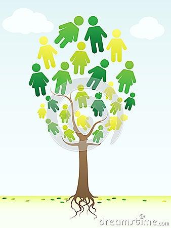 фамильное дерев дерево