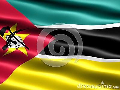 флаг Мозамбик