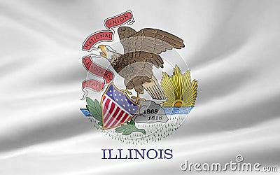 флаг illinois