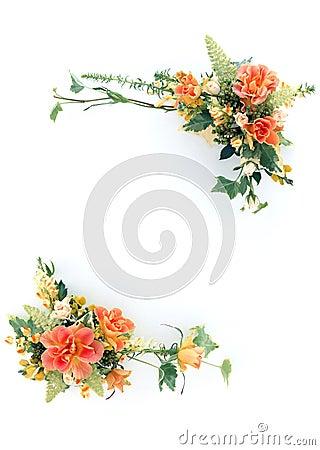 флористическая рамка 10