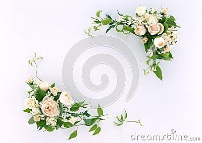 флористическая рамка 11