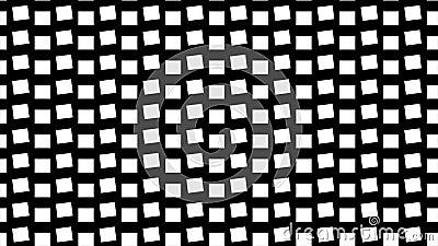 Фон черно-белых квадратов видеоматериал