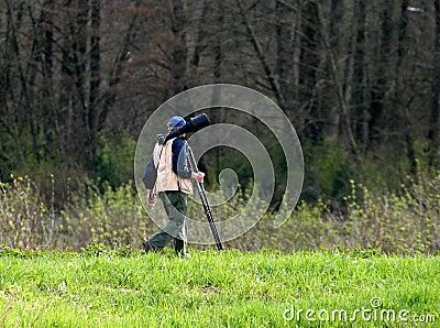 фото охотника