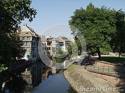 французский городок страсбурга