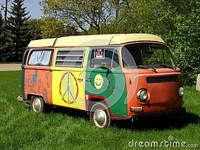 фургон hippie