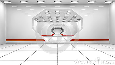 Футуристический коридор
