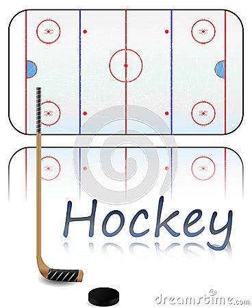 иллюстрации хоккея поля
