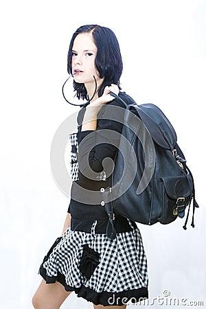 холодный студент девушки