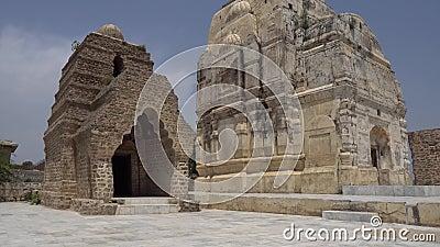 Храм Чаквал Кила Катас Радж сток-видео