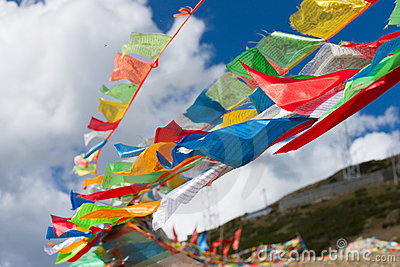 цветастая молитва флагов