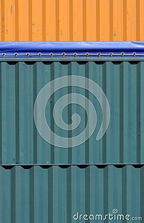 Цветастые контейнеры