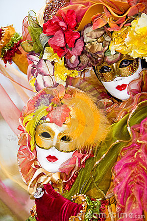 цветастый costume venetian