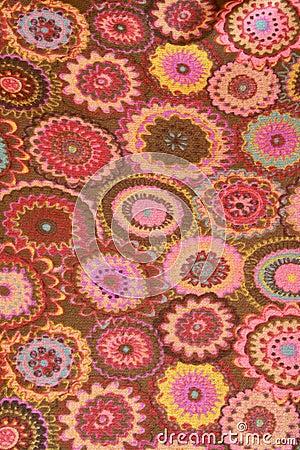 цветок ткани