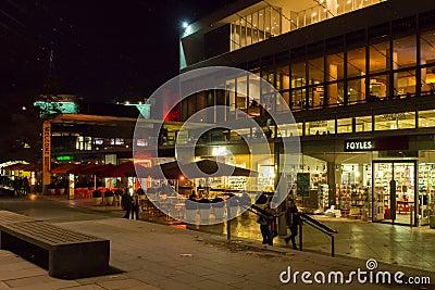 Центр Лондон южного берега Редакционное Стоковое Фото