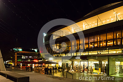 Центр Лондон южного берега Редакционное Изображение