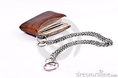 цепной бумажник