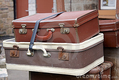 чемоданы старого типа