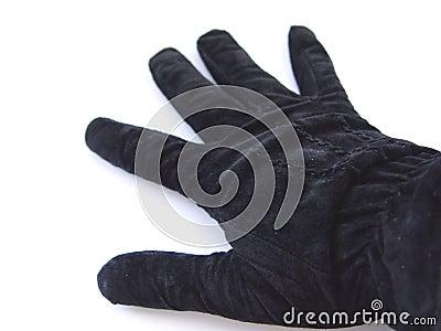 черная перчатка