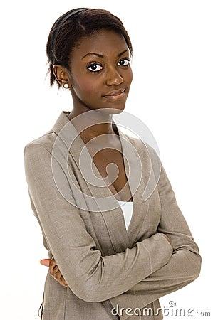 чернокожая женщина