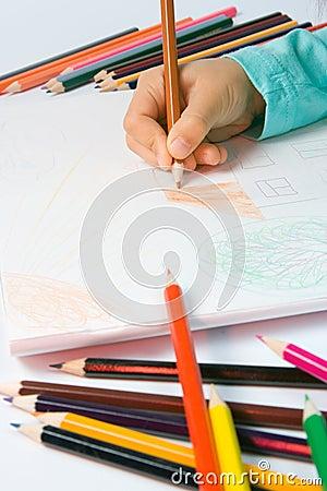чертеж s ребенка