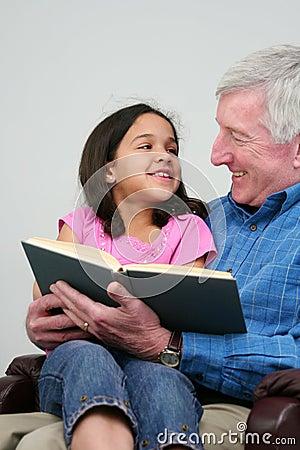 чтение книги grandfather
