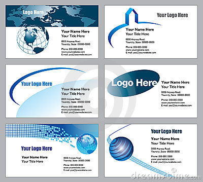 шаблоны визитной карточки