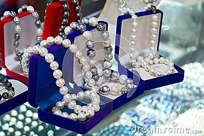 Шарики перлы раковины