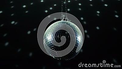 Шарик диско spining видеоматериал