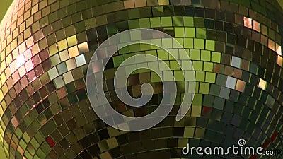 Шарик зеркала видеоматериал