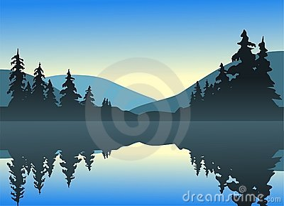 штилевое озеро