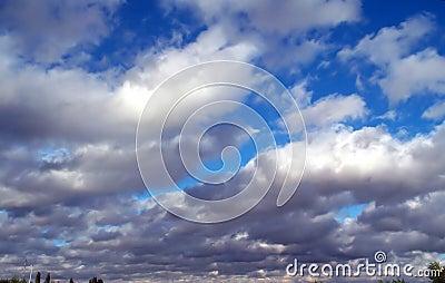 шторм облаков